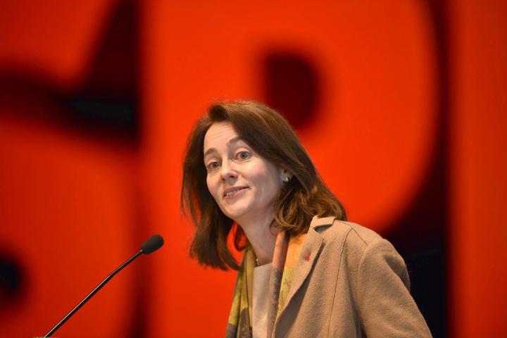 SPD-Generalsekretärin Katarina Barley (48).
