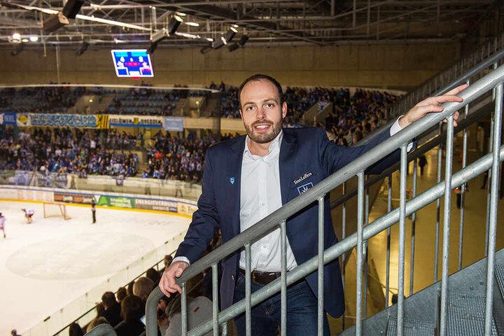 Maik Walsdorf sieht die Eislöwen jetzt in der Lage, den DEL-Aufstieg zu stemmen. Er wirft deshalb den Hut in den Ring.