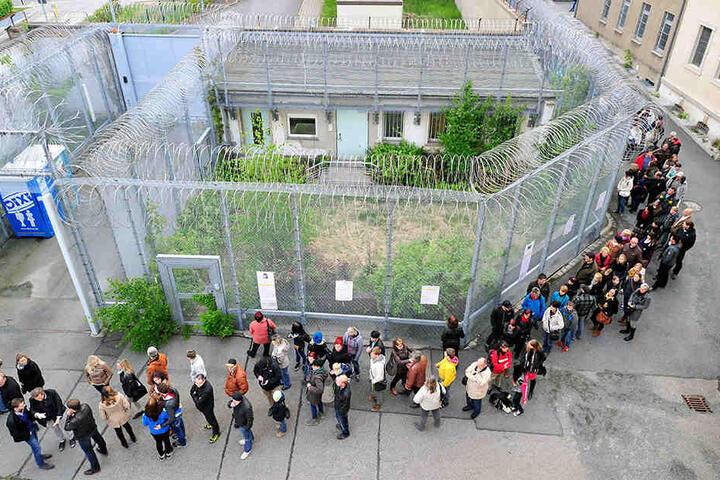 Nach einem Jahr Pause ist der Besuchermagnet Gedenkort Kaßberg-Gefängnis wieder dabei.
