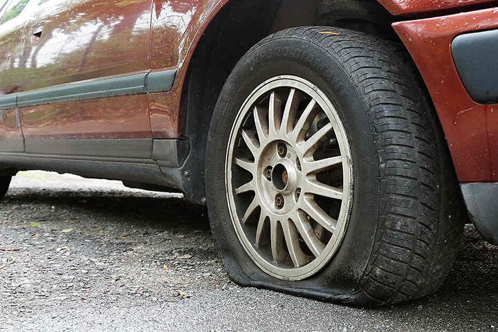An dem Auto entstand ein Schaden von rund 600 Euro. (Symbolbild)