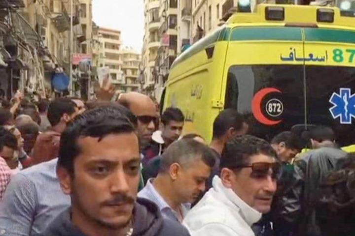 An zwei Orten sprengten sich Selbstmordattentäter in die Luft.