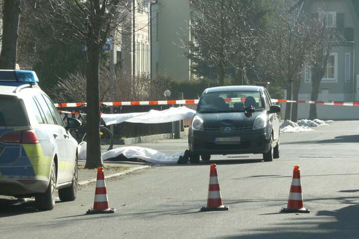 Das Unfallauto. Wie der Unfall zustande kam, ist bis dato unklar.