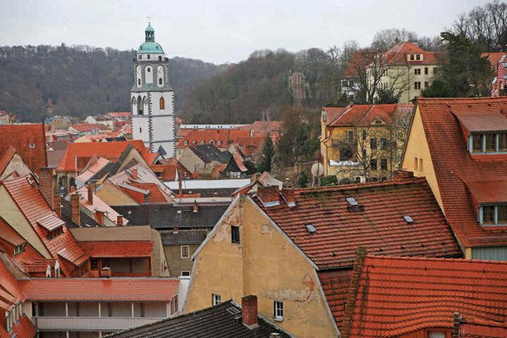Die Meißner Frauenkirche inmitten der Altstadt. Frank Richter meint: In der Stadt gibt es noch viel brachliegendes Potential.