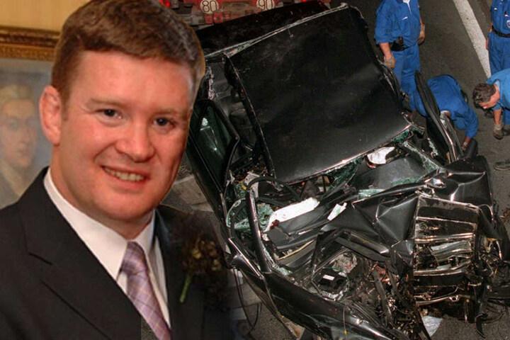 Einzig und allein Dianas Bodyguard Trevor Rees-Jones (49) überlebte den Horror-Crash.
