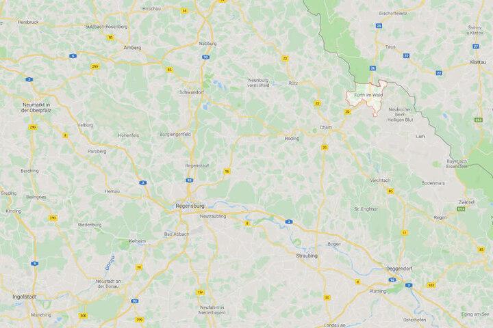 Das Unglück ereignete sich in Furth am Wald in der Oberpfalz.