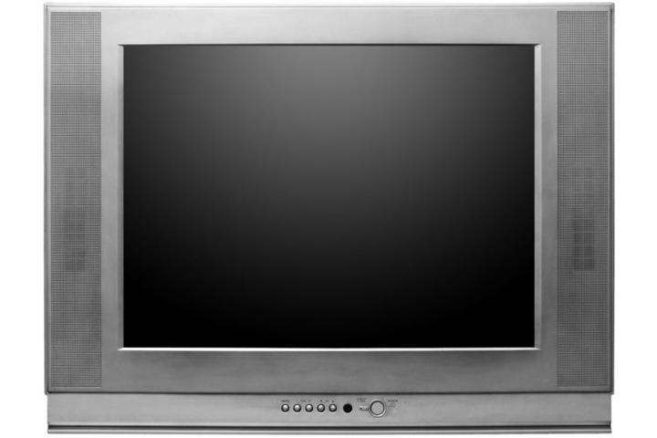 Bei dem Fernseher handelte es sich um ein schweres und altes Gerät. (Symbolbild)