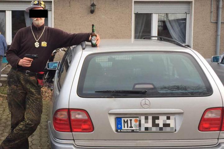 Mit diesem Bild fahndete die Polizei nach Jörg W. (51).