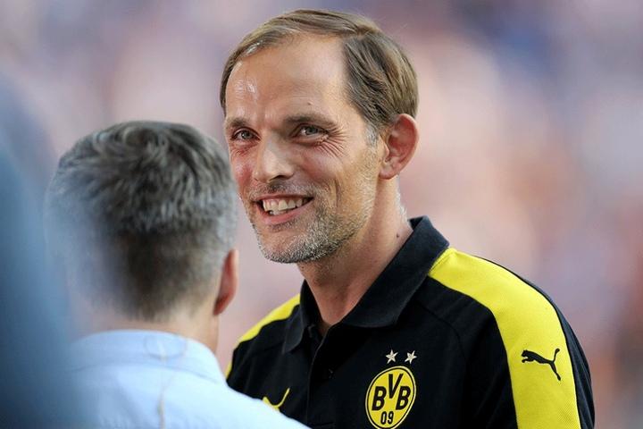 Thomas Tuchel, Trainer des BVB, reagierte aufgeschlossen auf die Reformvorschläge.