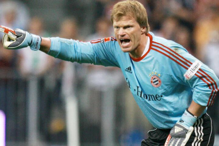 Torwart-Titan Oliver Kahn trieb den FC Bayern München als Schlussmann von Erfolg zu Erfolg.