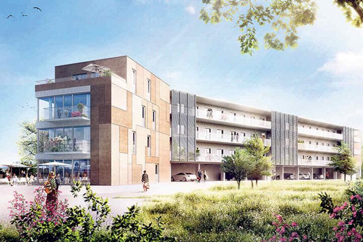 """Das """"Kreativzentrum Hafencity"""" ist der erste Neubau auf dem Gebiet."""