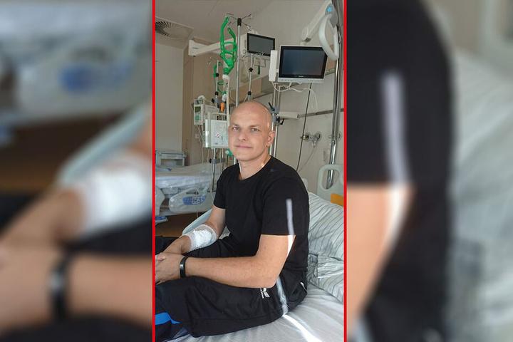 Sebastian Böhme (33) aus St. Egidien hat akute Leukämie und braucht zum Überleben dringend einen Stammzellenspender.