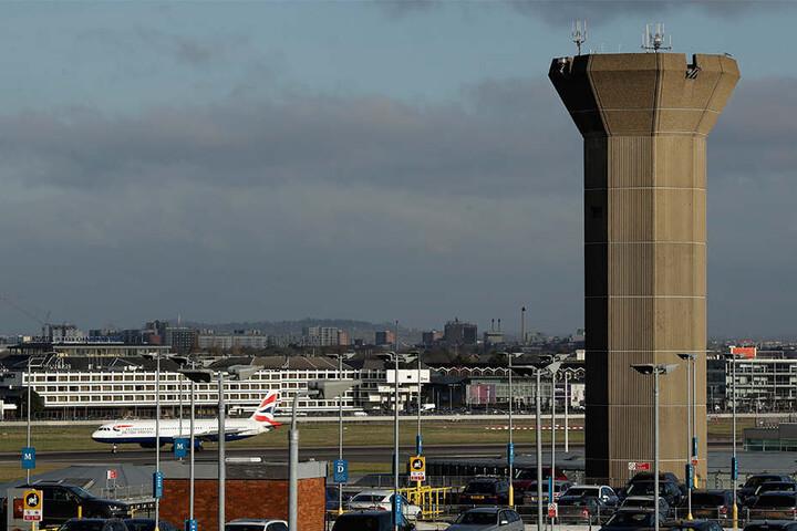 Auch der Londoner Heathrow Airport ist betroffen.