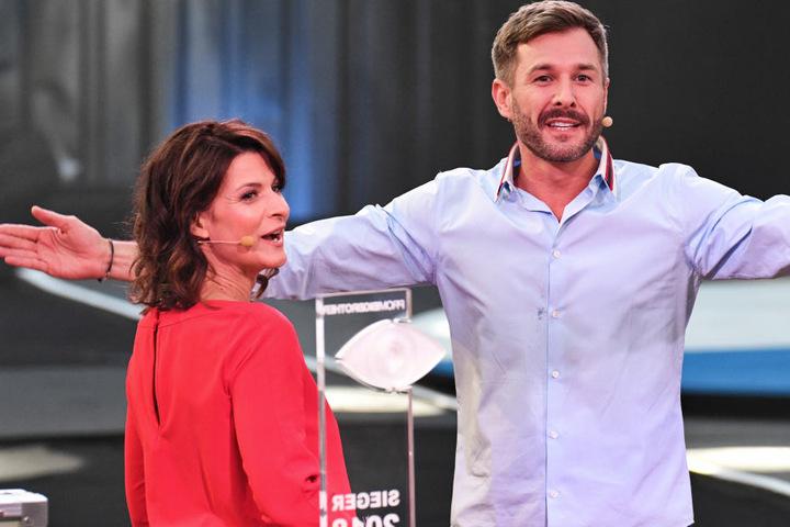 Moderatorin Marlene Kufen und Moderator Jochen Schopp.