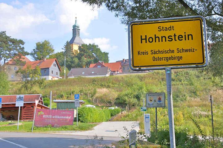 Die Serpentine liegt zwischen Hohnstein und Rathewalde.