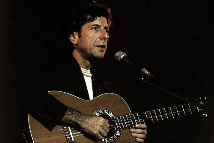Der Kanadier 1988 bei einem Konzert.
