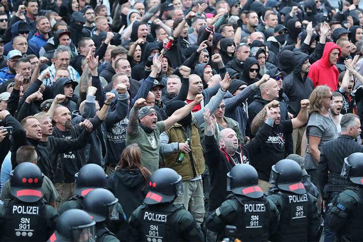 Die hässlichen Bilder der letzen Tage drückten auf das Chemnitzer Image.