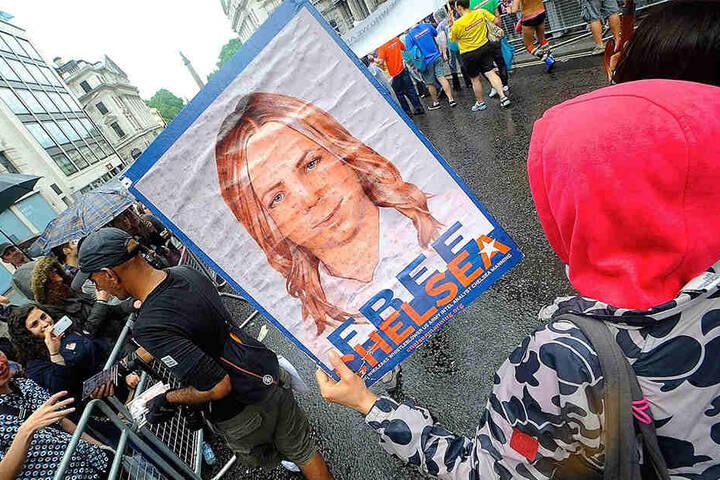 Seit ihrer Verurteilung kämpften Angehörige und Aktivisten für Mannings Freilassung.