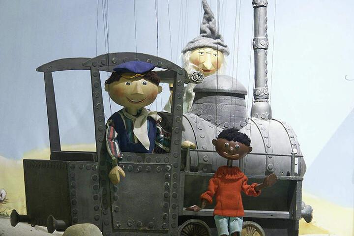 Unvergessen: Die Augsburger Puppenkiste erweckte Jim Knopf und Lukas den Lokomotivführer zum Leben.