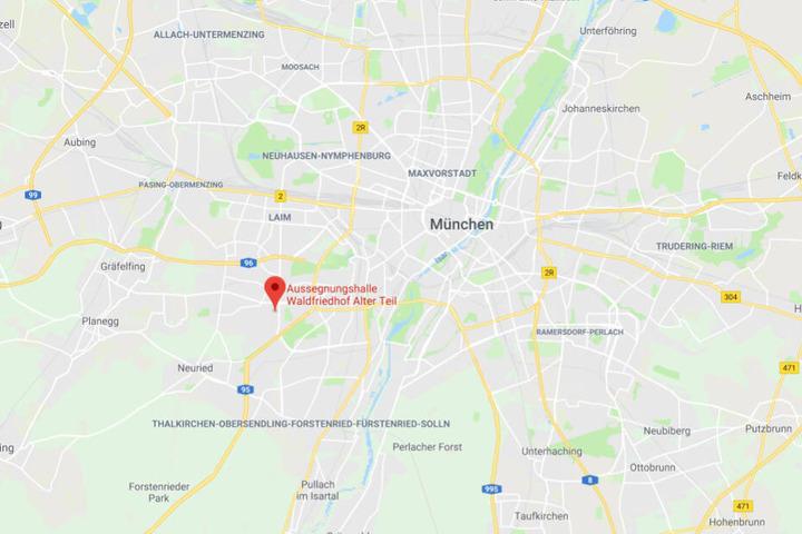 Die Tochter von Hermann Göring, Edda Göring, wurde in München nach ihrem Tod beigesetzt.