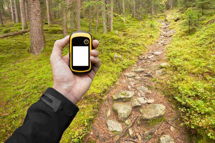 """Der seltsame Gegenstand stellte sich dann als ungefährlicher """"Schatz"""" für die GPS-Schnitzeljagd heraus."""