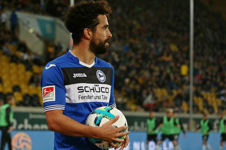 Kam aus Dresden: Neuzugang Nils Teixeira konnte bisher nicht richtig überzeugen.
