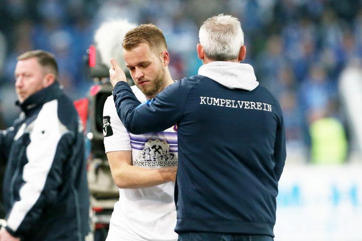 FCE-Coach Pavel Dotchev hat seinen Top-Stürmer Pascal Köpke wohlbehalten zurück.