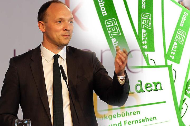 """Der kultur- und medienpolitische Sprecher der CDU/CSU-Bundestagsfraktion, Marco Wanderwitz (41): """"Stabilität der Rundfunkgebühren muss das Gebot der Stunde sein."""""""