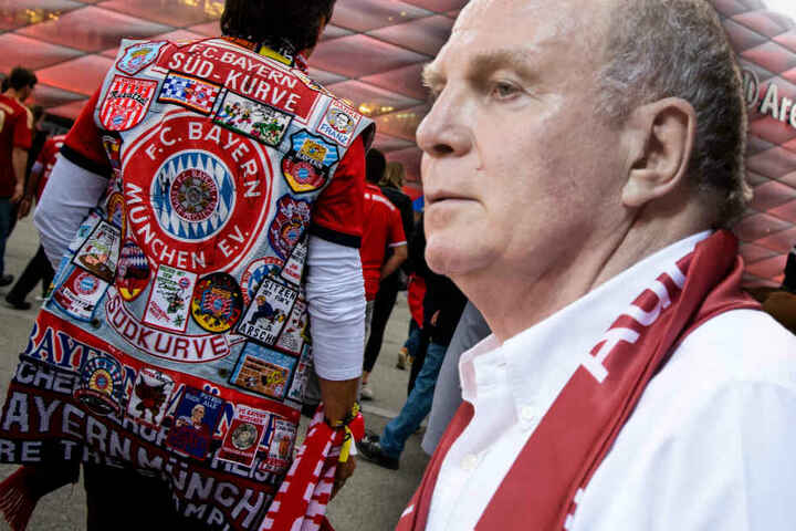 Uli Hoeneß gibt den Fans des FC Bayern München eine Mitschuld an der Mini-Krise des Rekordmeisters.