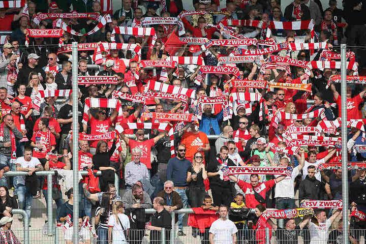 Nicht einmal 4000 Zuschauer wollten die Partie des FSV gegen die Werder-Bubis sehen.