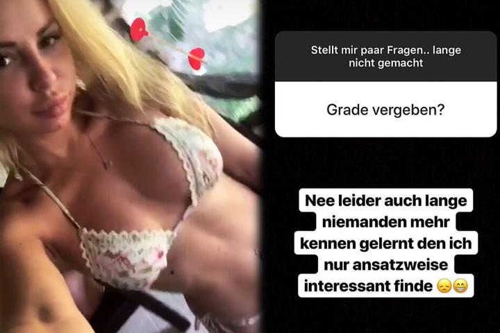 """Zwei weitere Screenshots aus dem Instagram-Profil von Sabrina alias """"Sabi"""" aus Offenbach."""