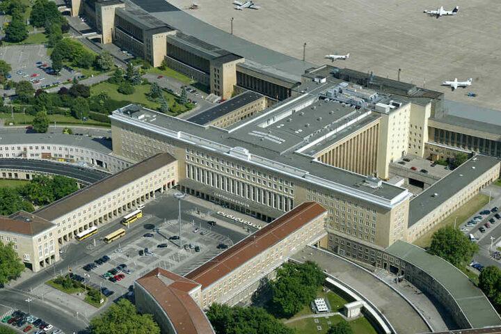 Das Gelände des Flughafen Tempelhof.