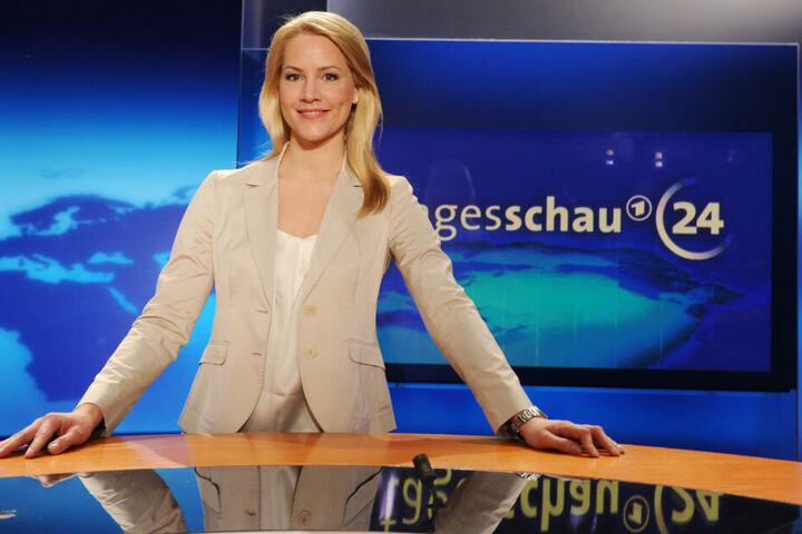 Die Zuschauer können auf Tagesschau24 und die Moderatorin Judith Rakers ausweichen.