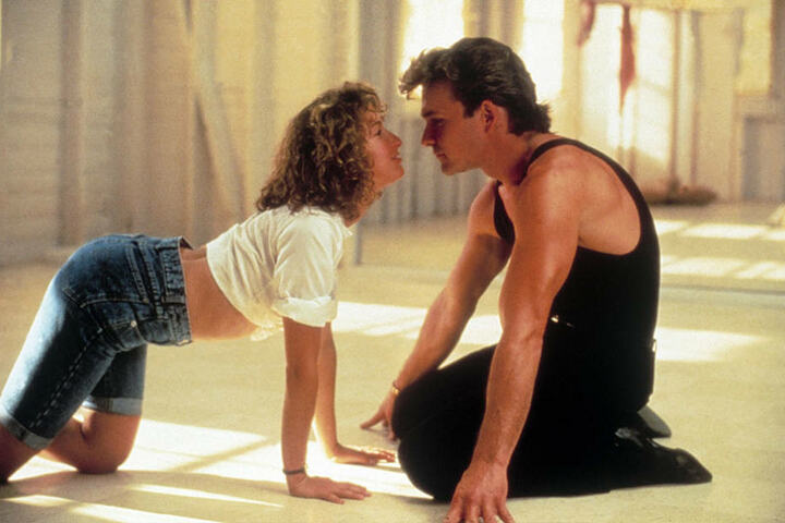 Seit 30 Jahren ein Dauerrenner bei den (weiblichen) Zuschauern: Johnny und sein Baby.