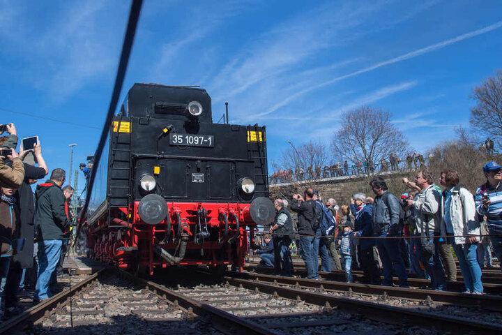 Die verschiedensten Bahnen werden in Heiligenstadt gezeigt.