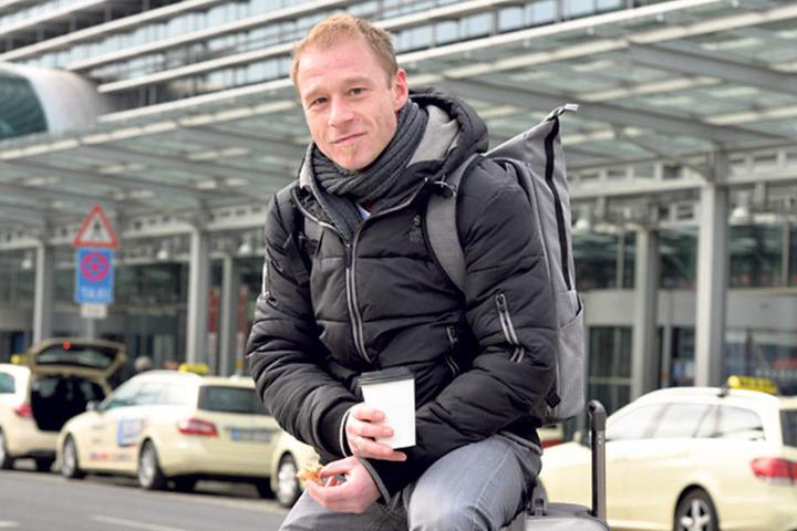 Oliver Preiss (42) düst aus beruflichen Gründen fünf Wochen nach Sibirien.