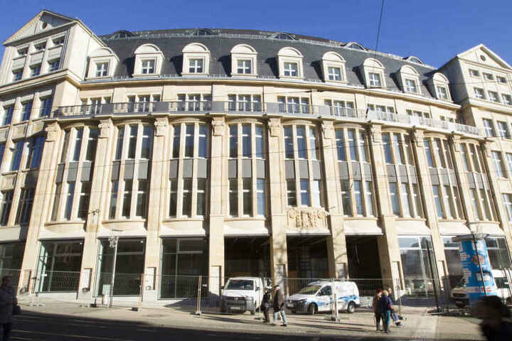 Sieben Jahre hat der Umbau des alten Kaufhauses gedauert.