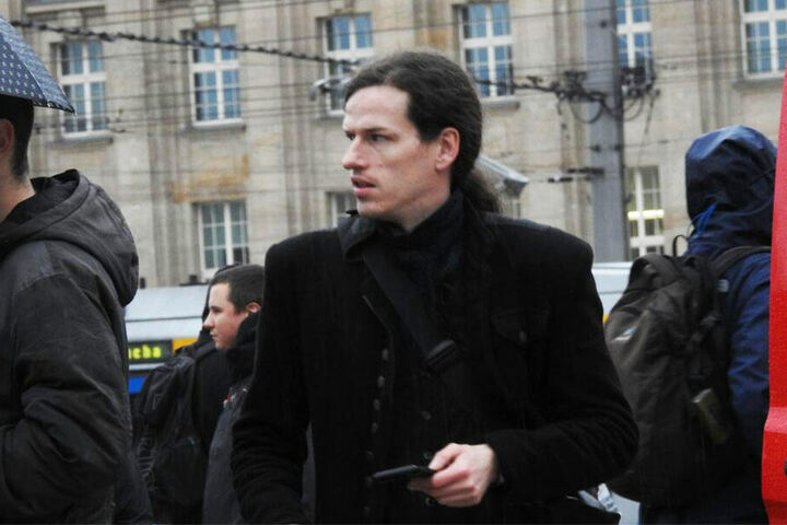 Jürgen Kasek (37) vom Bündnis90/Die Grünen.
