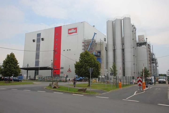In Leppersdorf steht bereits eine Großmolkerei von Müller in Sachsen.
