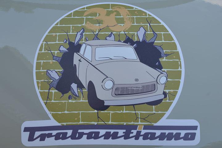 """""""Trabantiamo"""" heißt die Tour: Trabant, ich liebe Dich."""