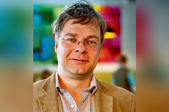 Wiederholungstäter: Stollbergs OB Marcel Schmidt (45) hat sich erneut von der Freien Wählerunion als Stadtratskandidat aufstellen lassen.