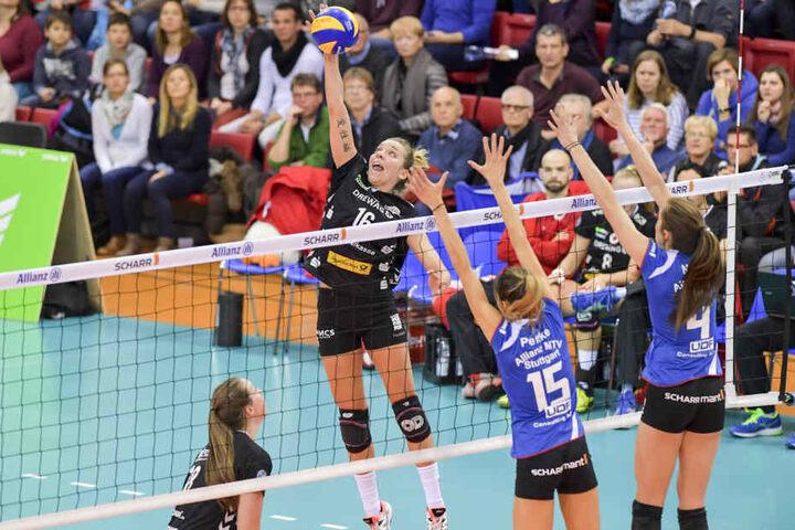 Im Liga-Hinspiel in Stuttgart musste sich der DSC am 4. Dezember mit 1:3 geschlagen geben.