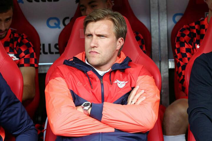 RB-Sportdirektor Markus Krösche (39) muss sich nach einem anderen Ersatz umsehen.