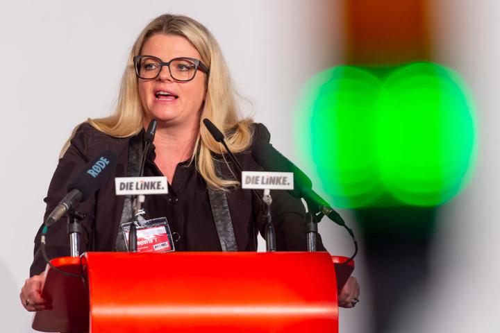 Linke-Chefin Susanne Schaper (41) ist gegen die Großübung.