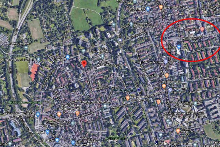 Der 25-Jährige war nach eigenen Angaben vor seiner Wohnung im Senefelderweg angegriffen worden. Später fasste ihn die Polizei dann in der Weilbrunnstraße.