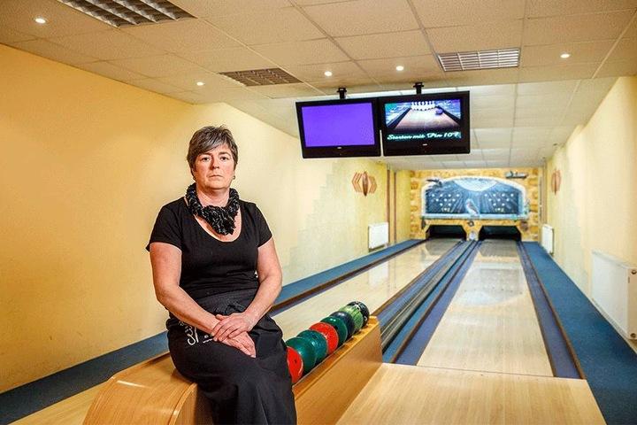 Besonders beliebt sind die beiden Bowlingbahnen. Viele nutzten das Angebot und brachten so Einnahmen.