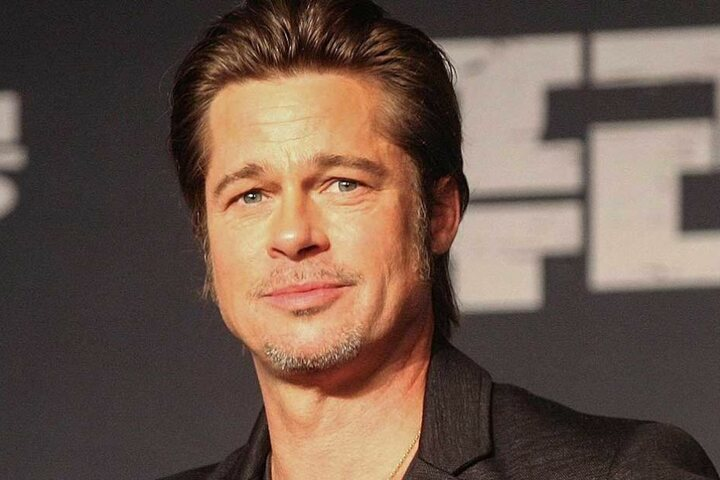 Ein Bild aus glücklichen Tagen: Sonnyboy Brad Pitt, wie man ihn kannte und Frauen ihn liebten.