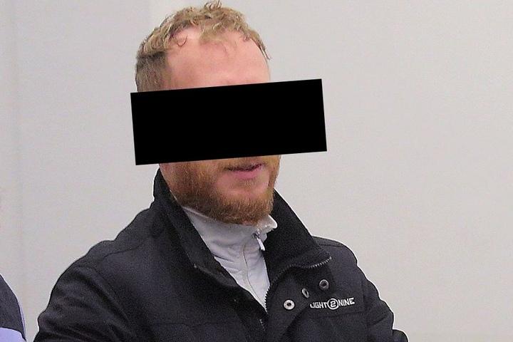 Überfall-Opfer Sascha K. (40) sitzt derzeit wegen Einbrüchen sieben Jahre Haft ab.