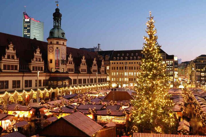 Grund dafür ist der Leipziger Weihnachtsmarkt, der am 27. November eröffnet wird.