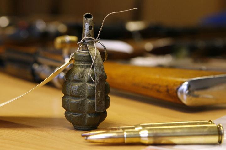 Die Handgranate war echt, jedoch waren Sprengstoff und Zünder entfernt worden. (Symbolbild)