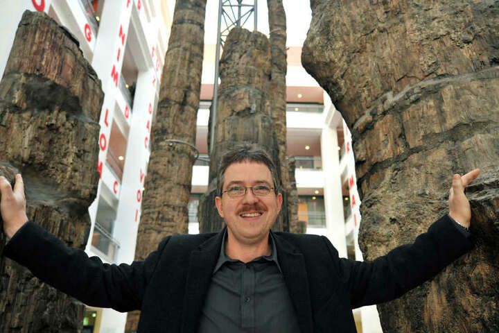 Museums-Chef Ronny Rößler freut sich über die Entdeckung.